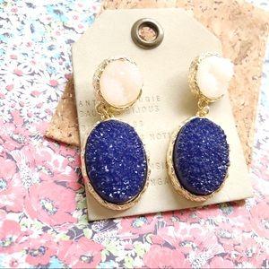 NWT Anthro baublebar stone earrings